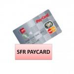 carte sfr paycard