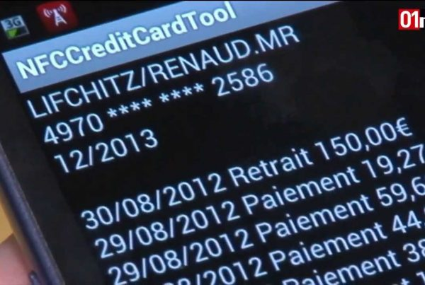 Fraude-paiement sans contact NFC