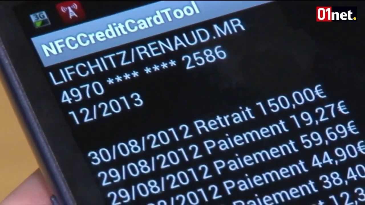 Fraude-paiement sans contact NFC