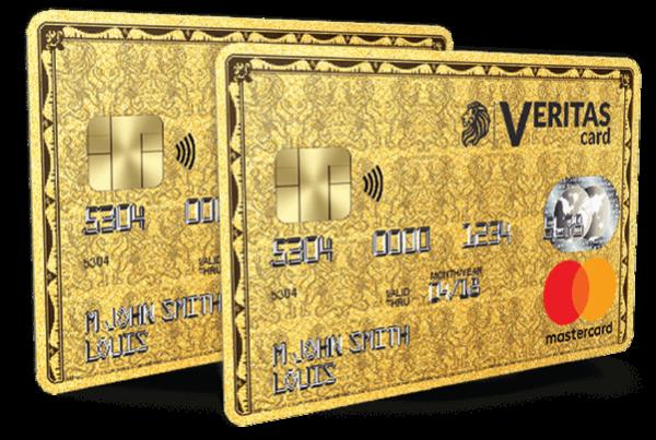 la carte bancaire prépayée Veritas MasterCard