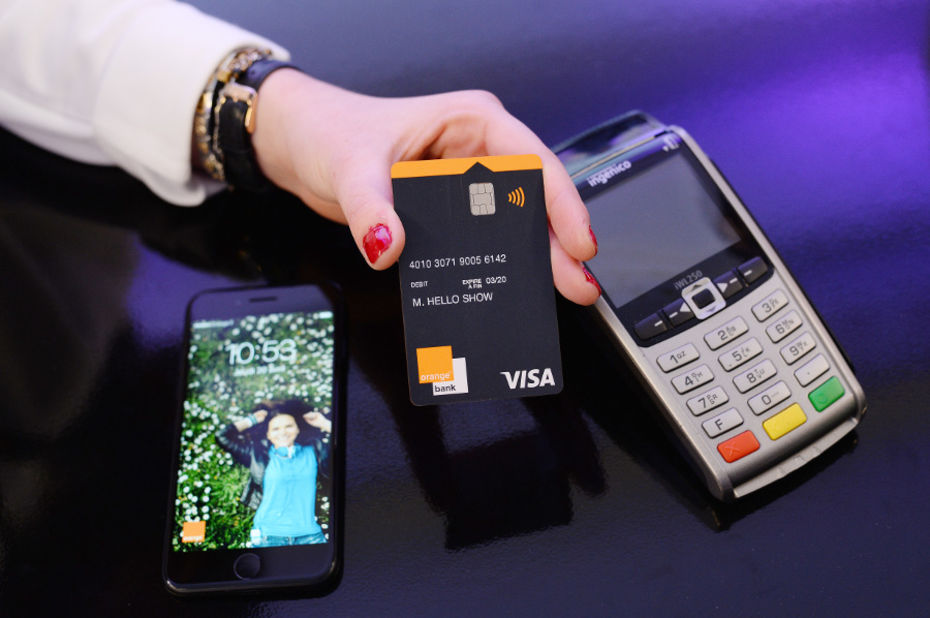 La carte bancaire Premium Orange Bank