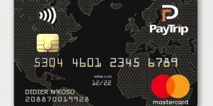 design de la Carte bancaire prépayée PayTrip