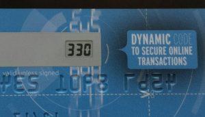 carte Visa Premium Orange cryptogramme dynamique