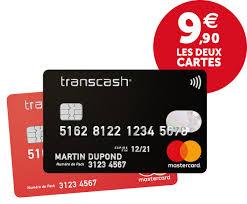 cartes Transcash
