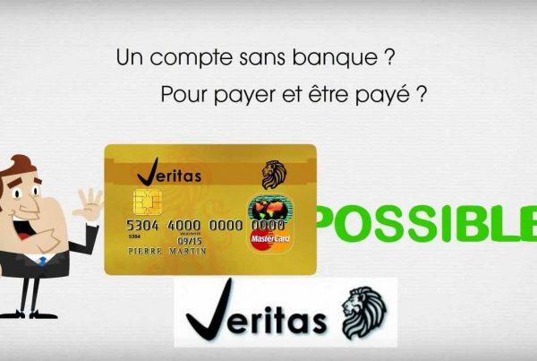 solde de sa carte prépayée Veritas