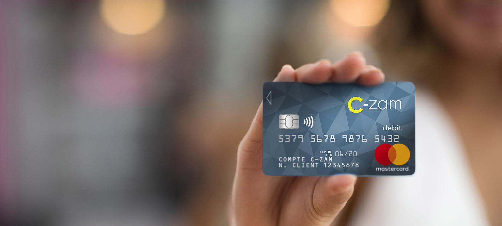 La carte C-Zam : une carte bancaire avec de nombreux avantages