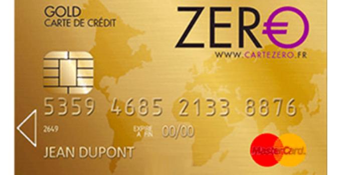 Carte Zero Gold de MasterCard: notre avis