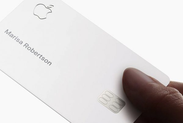 La carte de crédit Apple