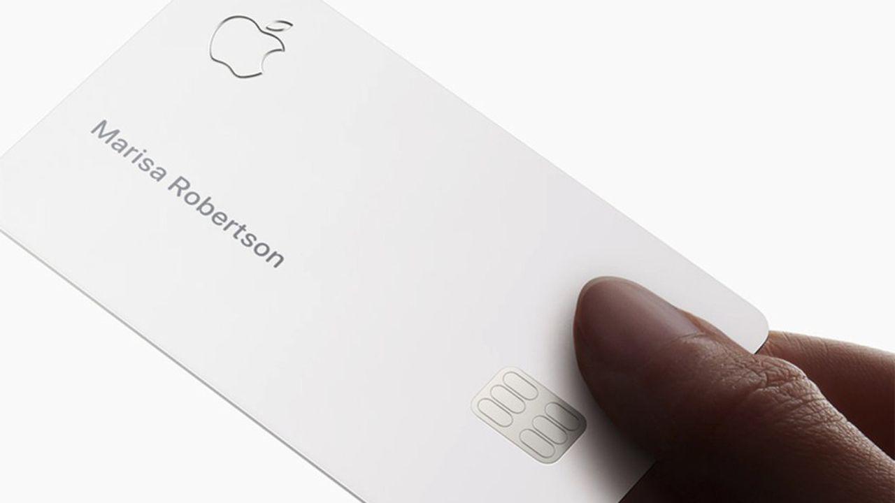 La carte de crédit Apple mise sur la sécurité