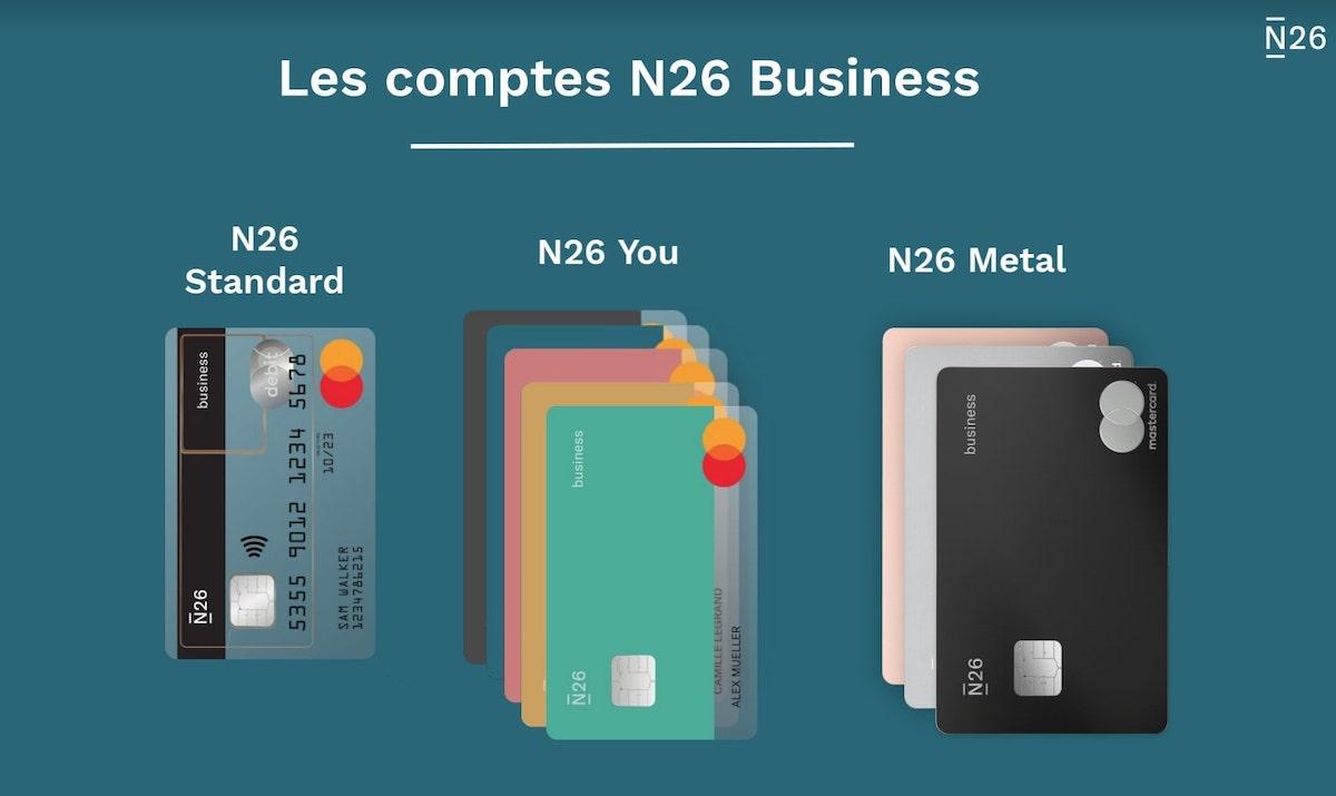 N26 lance un compte bancaire auto-entrepreneur haut de gamme