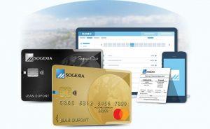 Carte bancaire prépayée Sogexia rechargeable Mastercard ou Visa