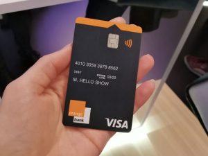 TOP Carte Bancaire Prepayee avec rib orange bank