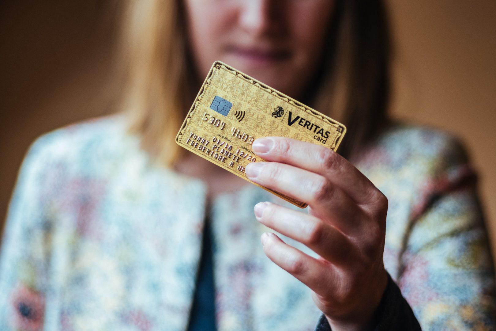Veritas Card la carte bancaire prepayee avec RIB